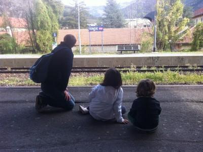 Trois d'entre nous, le quatrième prend la photo!
